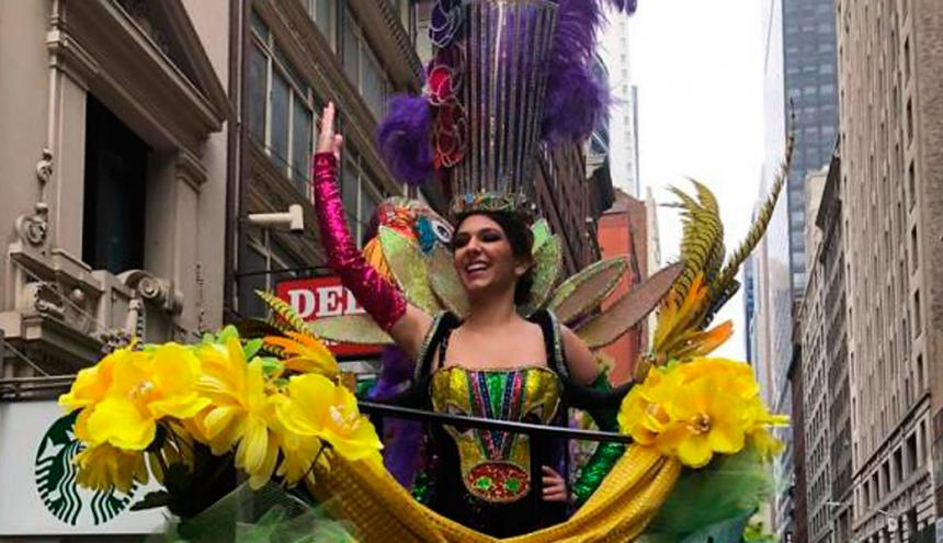 Carolina Segebre, reina del Carnaval 2019.