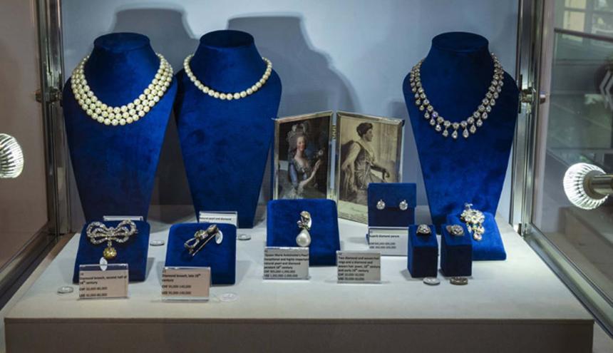 La colección también incluye objetos de valor que pertenecieron al rey Carlos X.