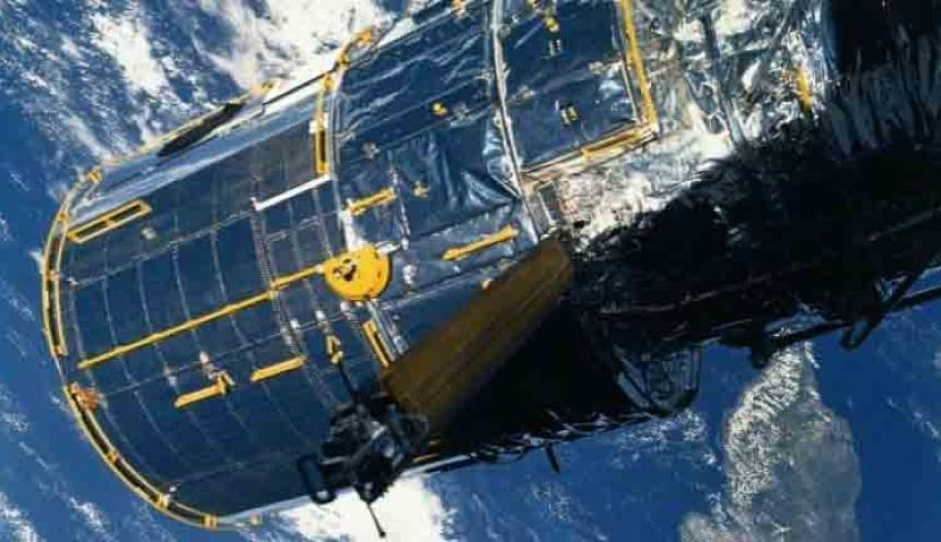 Aspecto del telescopio espacial Hubble.