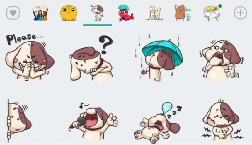 Estas son las nuevas calcomanías que presenta Whatsapp en su más reciente actualización.