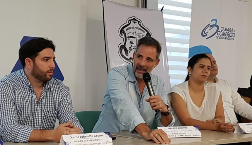 Juan Jaramillo, secretario de Cultura, Patrimonio y Turismo.