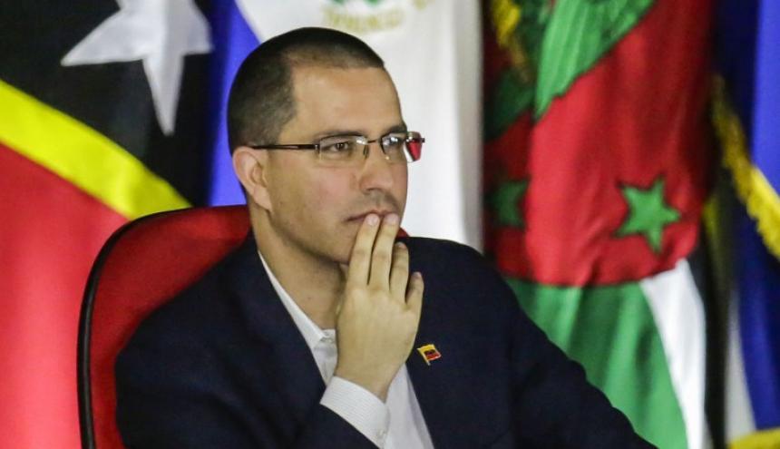Jorge Arreaza, canciller de Venezuela.