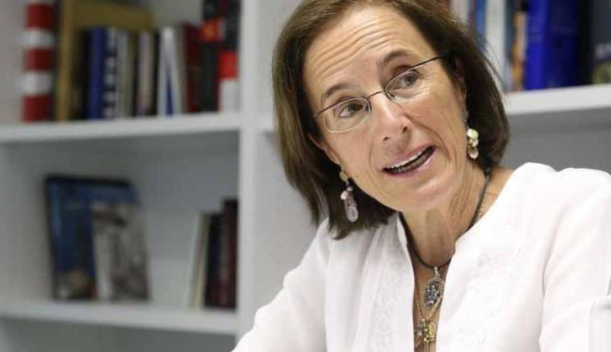 La periodista española Salud Hernández.