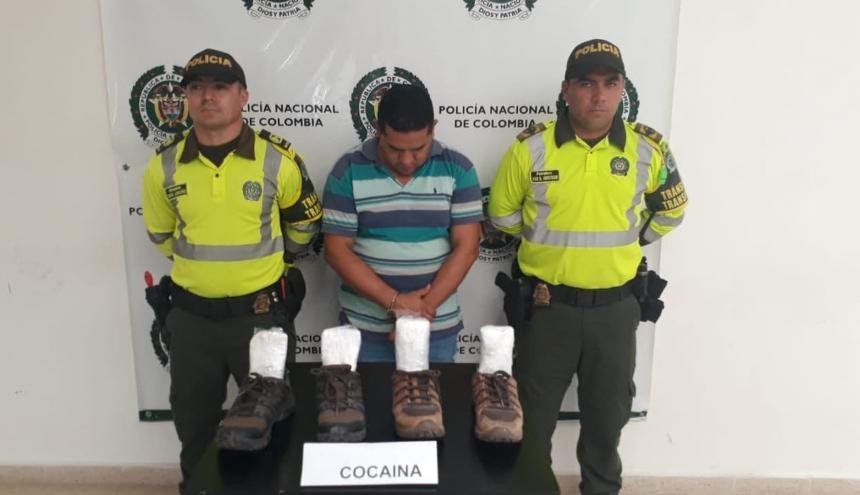 Carlos Eduardo Delgado Castilla, capturado.