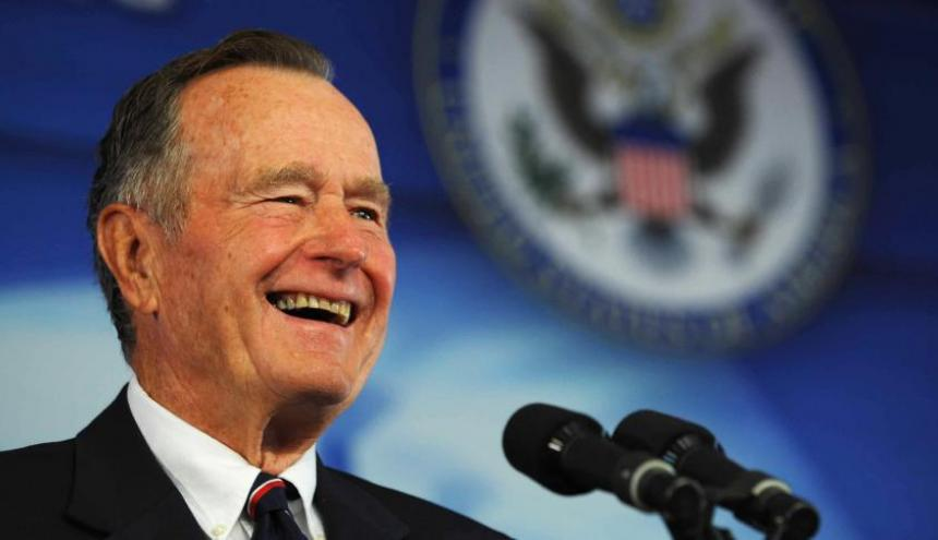 El fallecido George Herbert Walker Bush, 41º presidente de Estados Unidos.