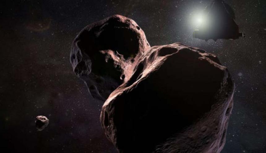 New Horizons se encontrará con el asteroide.