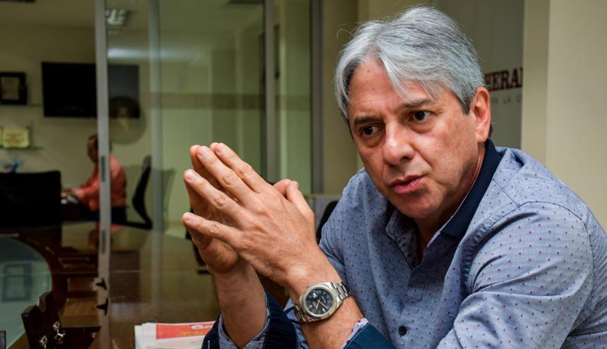 Jaime Amín, alto consejero presidencial.