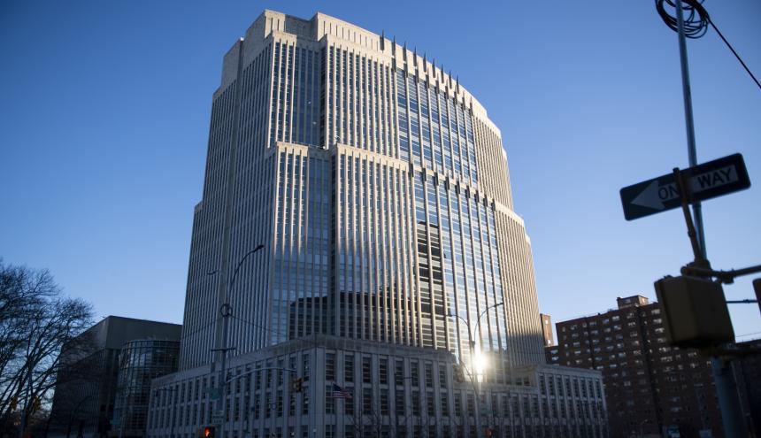 Corte Federal de Brooklyn, donde se desarrolla el juicio.
