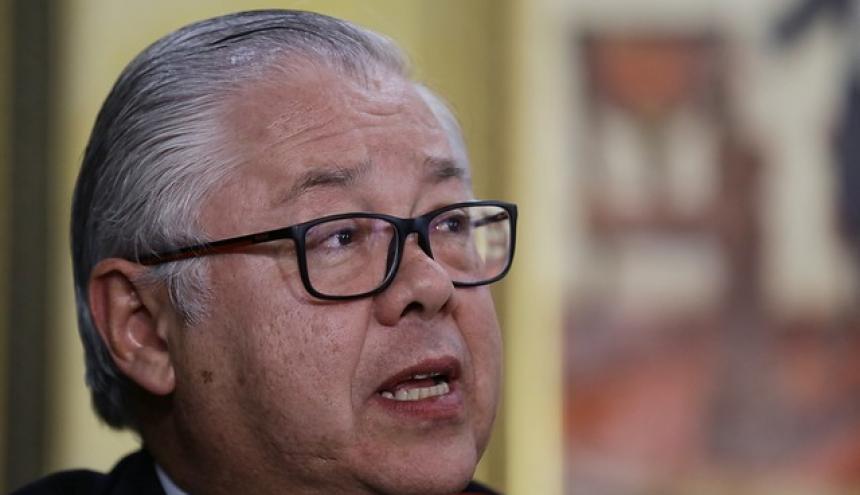 José Luis Barceló, presidente de la Corte Suprema.