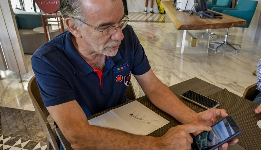 El gobernador Verano en diálogo con EL HERALDO.