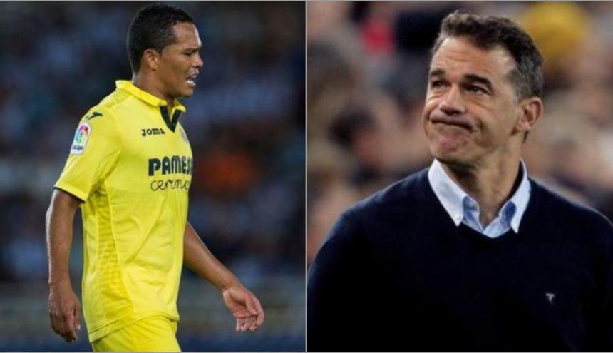 Carlos Bacca y Luis García Plaza.