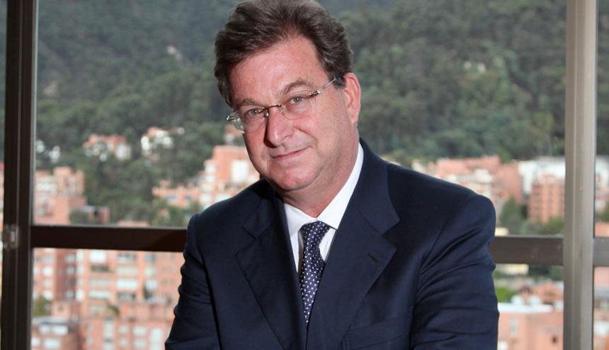 Jaime Gilinski, presidente del banco GNB Sudameris.