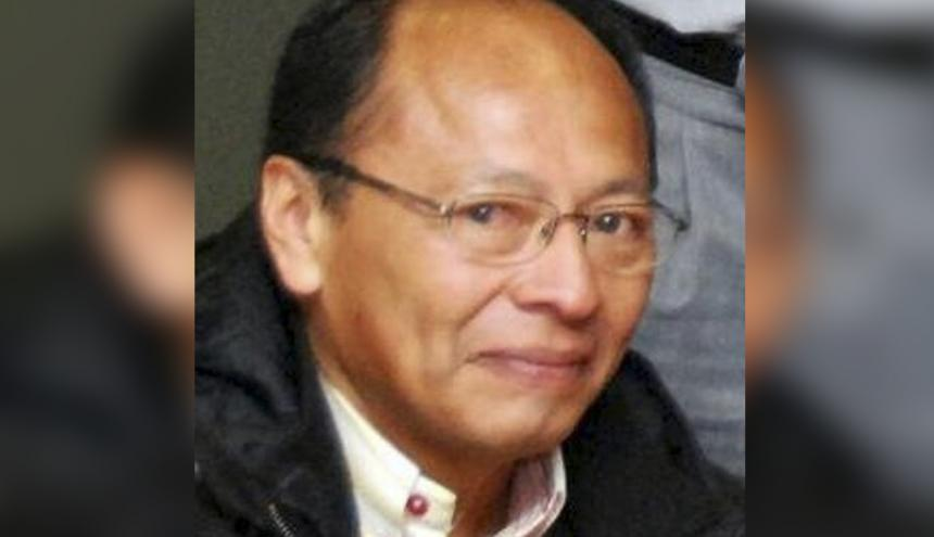 Armando Valbuena, líder wayuu.
