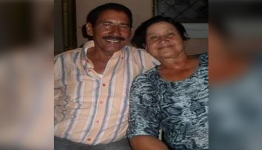 Andrés Avelino Gámez Meza y Libia Benítez Contreras.