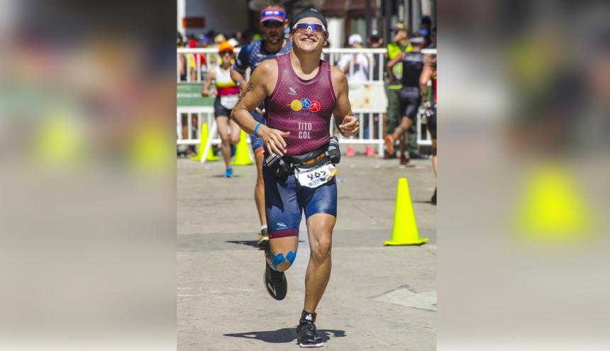 Tito José Crissien recorrió en total 517,5 kilómetros.