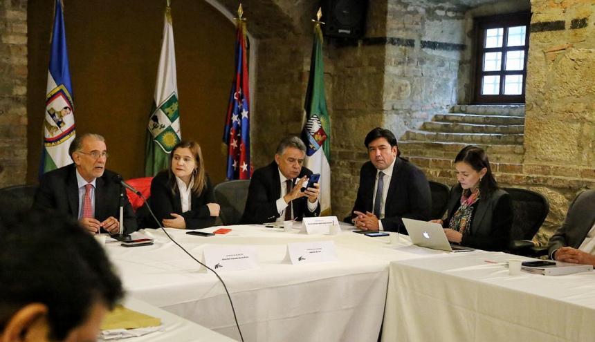 El gobernador Eduardo Verano explica la posición frente al PND.