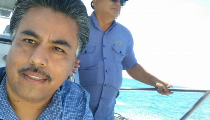 Santiago Barroso, periodista asesinado.