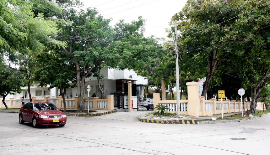 En esta sede de Triple A, en el norte de Barranquilla, están las oficinas de la Gerencia de la empresa.