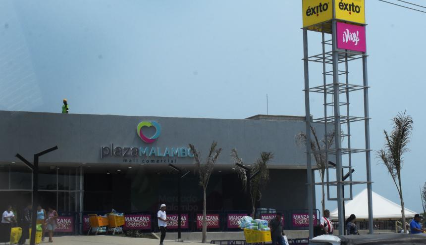 Centro Comercial Plaza Malambo abrió en una primera etapa.