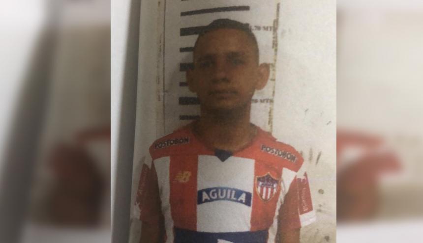 Carlos Hoyos Púa, presunto asesino de Kevin Senior.