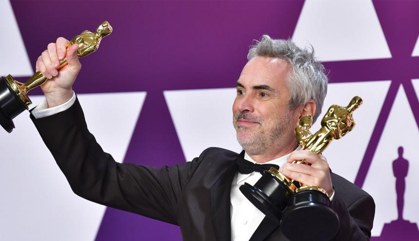 Alfonso Cuarón dirigió el filme de Netflix 'Roma' que ganó tres Premios Oscar.