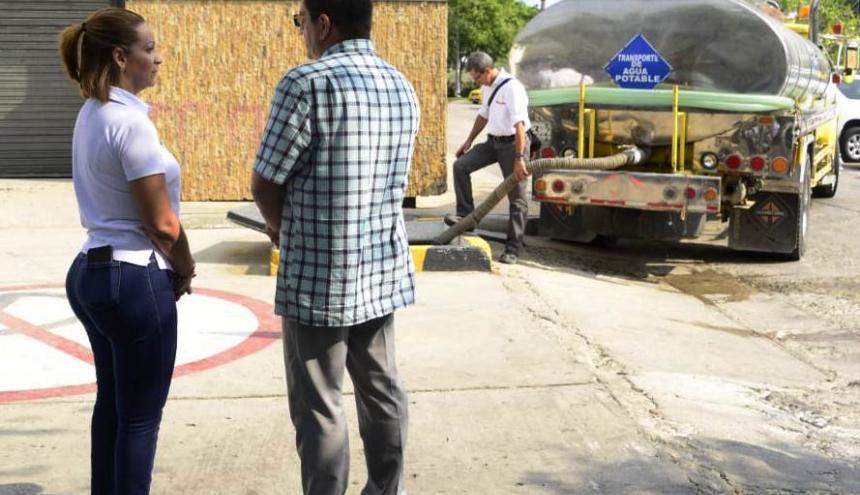 Treinta carrotanques están disponibles para abastecer tanto el sector turístico como el popular.