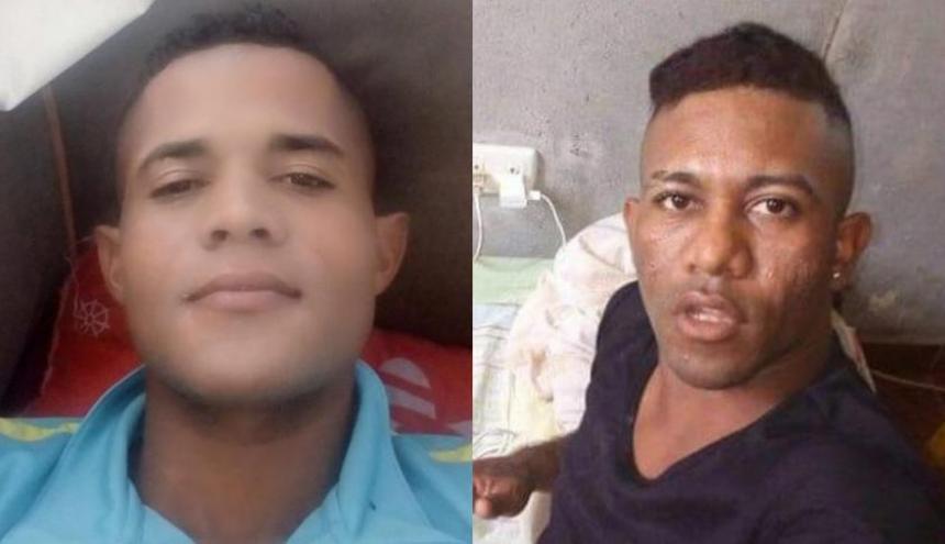 Dos de las víctimas fatales del ataque sicarial.