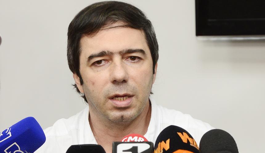 Antonio Char durante su diálogo con los medios.