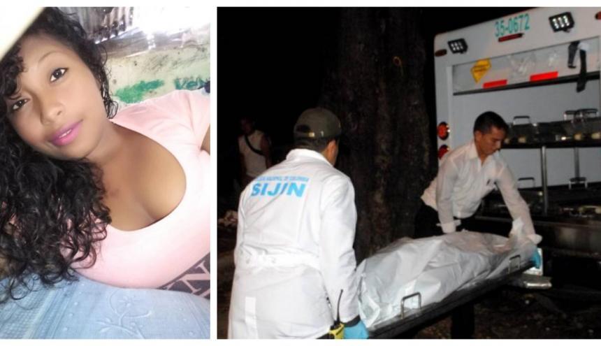 Adriana Carolina Morales Apusmaina, asesinada en Guachaca.