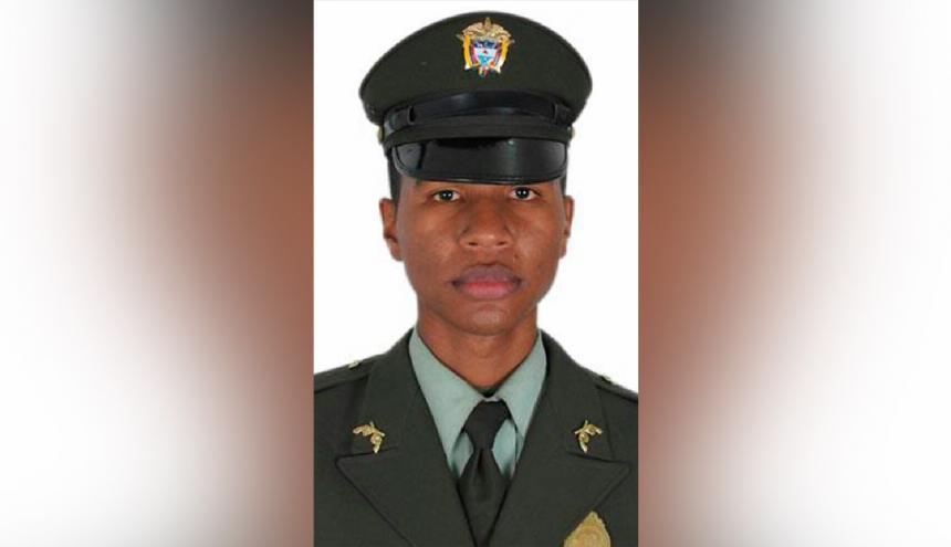 El patrullero de la Policía Erwin Manuel Cuadrado Rodríguez, de 31 años.