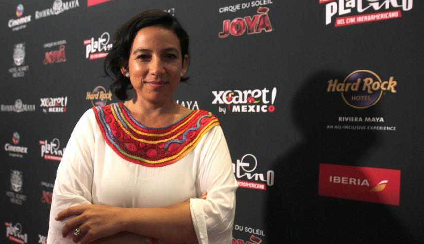 Cristina Gallego en la gala de los premios.