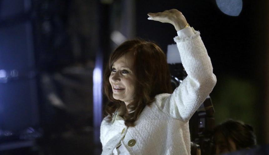 La ex presidenta de Argentina, Cristina Fernández de Kirchner.
