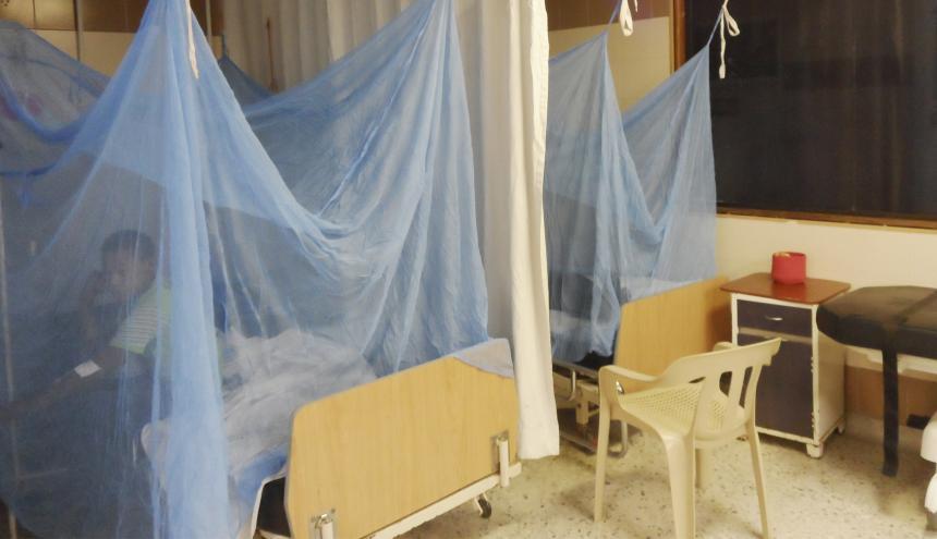 En aislamiento se encuentran pacientes del hospital.