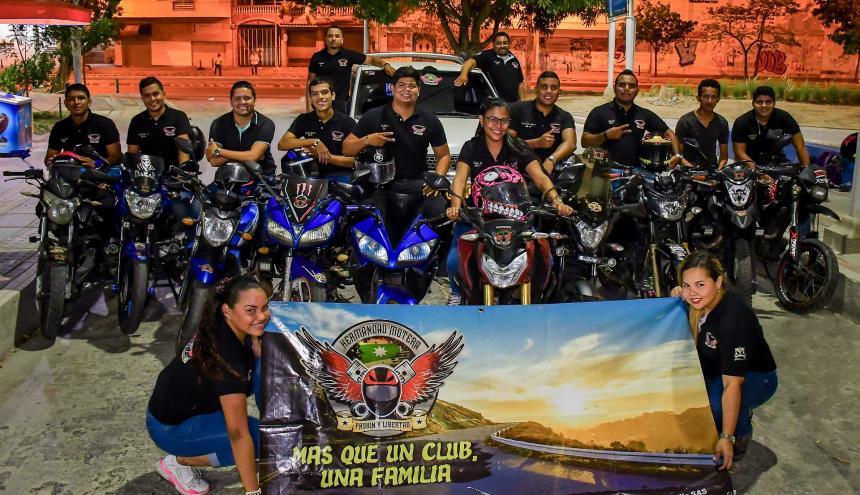 Son 12 los miembros oficiales de Hermandad Motera.
