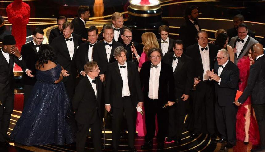 Ganadores del Oscar a Mejor película en 2019.