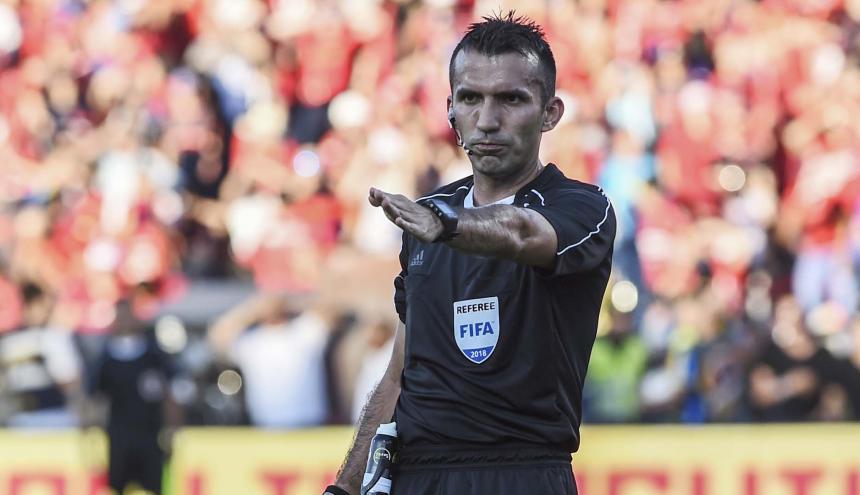 Carlos Betancur, árbitro vallecaucano.