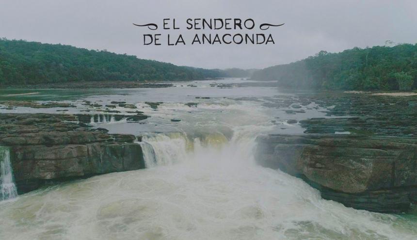 Foto fija del documental grabado en la Amazonía.