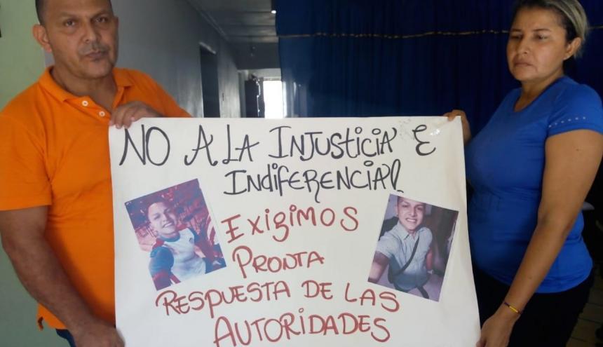 Los padres de Kevin Maury González manifestaron que aún tienen esperanzas de encontrar a su hijo con vida.