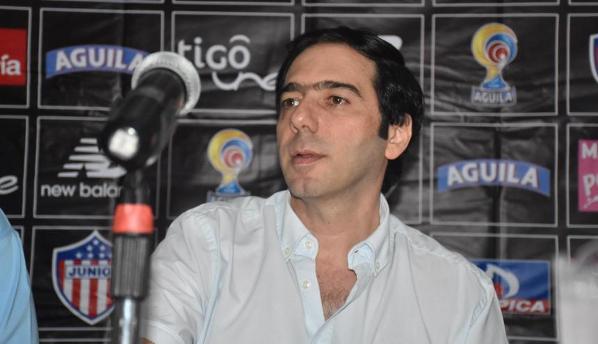 Antonio Char, presidente del Junior, es optimista de cara al futuro rojiblanco.