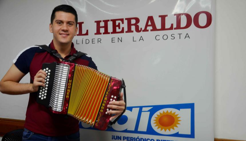 Libardo Pérez Verbel estuvo de visita en la sede de EL HERALDO en Sincelejo.