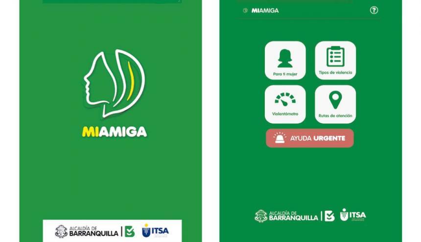 Imagen de la App que diseñó el Distrito y el Itsa.