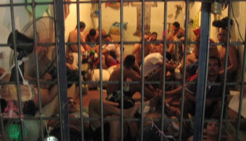 Así permanecen algunas de las celdas de la cárcel de Riohacha.