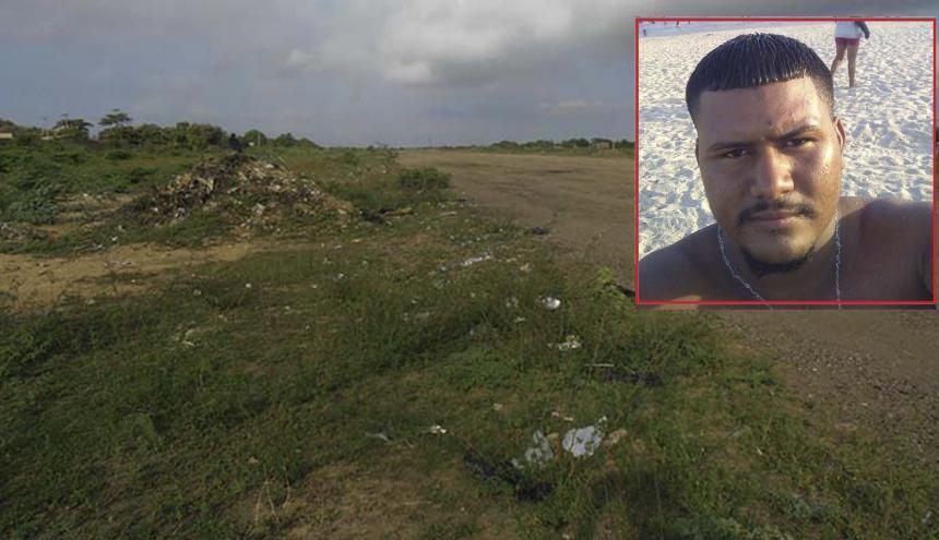 Luis Miguel Bellido Toscano, de 23 años, quedó herido en el enfrentamiento con la Policía.