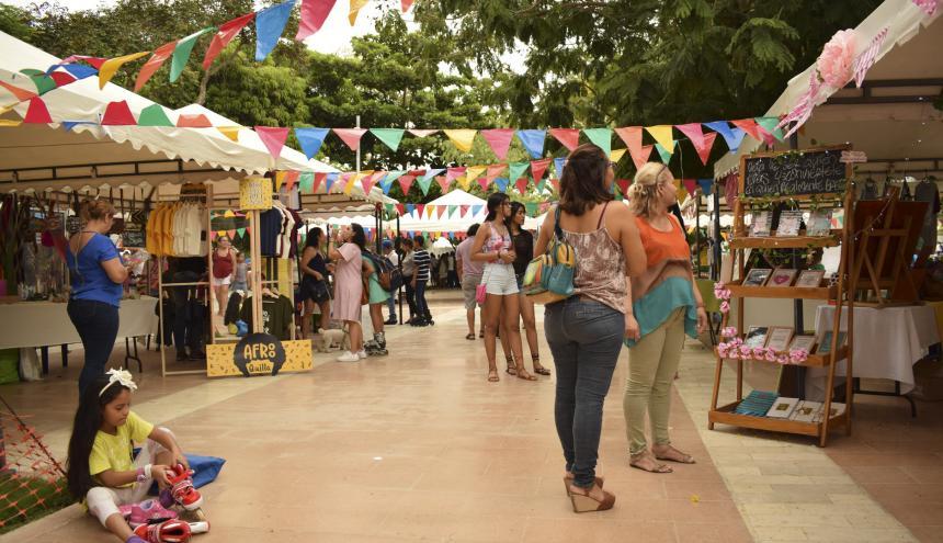 Imagen de una de las ediciones pasadas de la feria 'El Jardín Mágico'.