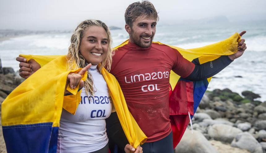Isabella y Giorgio Gómez.