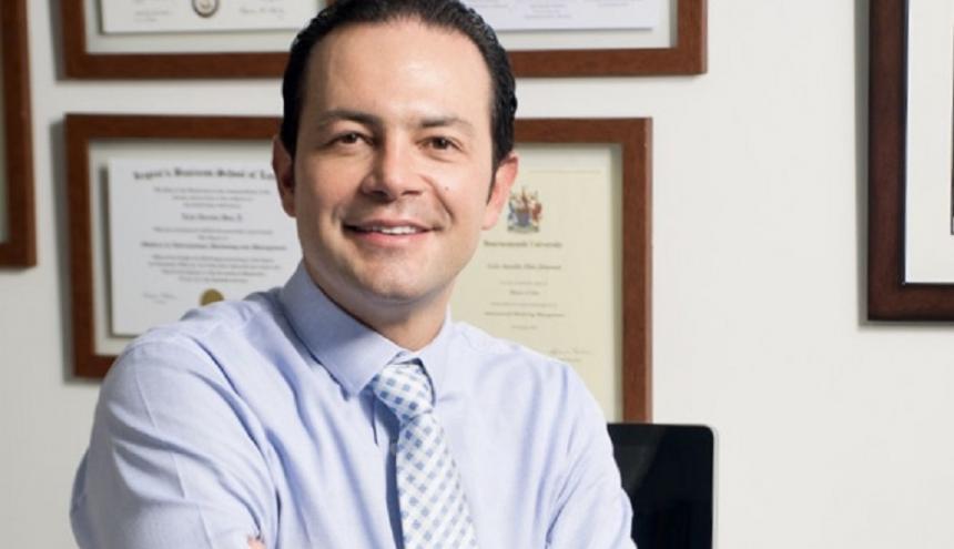 El gerente del Grupo Oikos, Luis Aurelio Díaz.