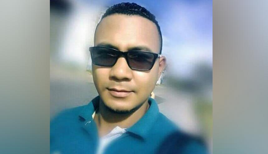 Yojan Andrés Reales Correa, víctima.