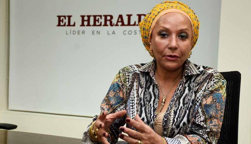 La exsenadora liberal Piedad Córdoba.