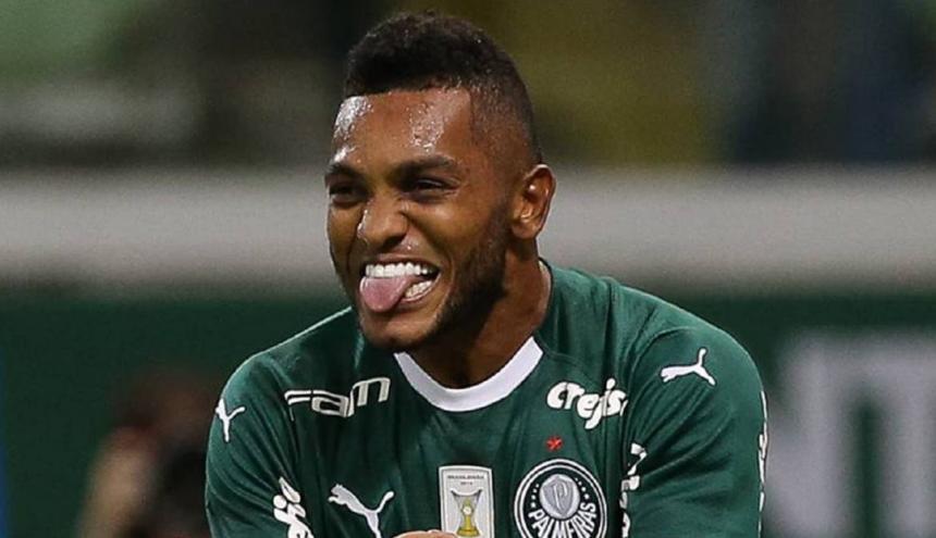 Miguel Borja, ariete colombiano del Palmeiras.