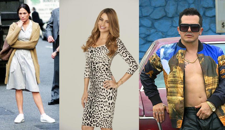 Jennifer López, Sofía Vergara y John Leguizamo, son algunos de los actores que usualmente caen en una misma categoría de papeles.